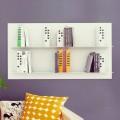 Biblioteca de diseño de pared Skyline 130x70 Mabele