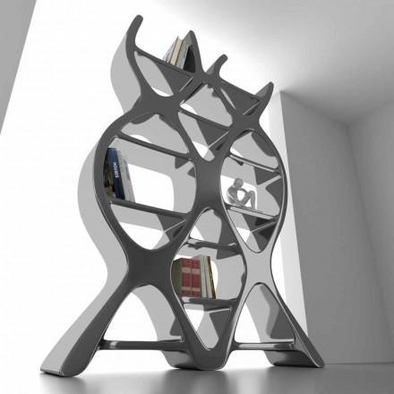 Estantería de pie de diseño moderno de Solid Surface® modelo DNA