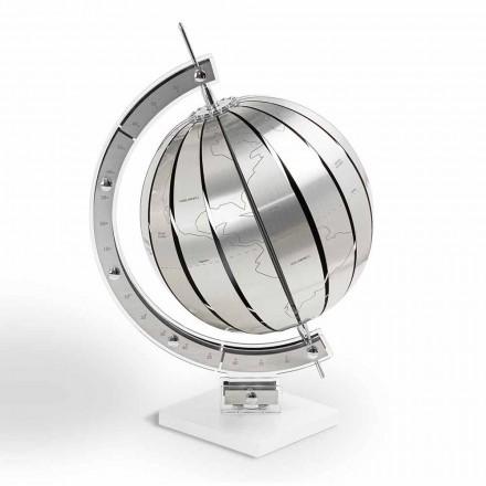 Globo del mundo por la mesa de diseño moderno, fabricado en Italia