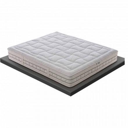Un colchón y medio en memoria de lujo H 25 cm Made in Italy - Platinum