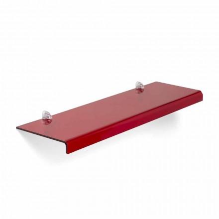 Diseño moderno estante de metacrilato L75xP22 cm, Andre