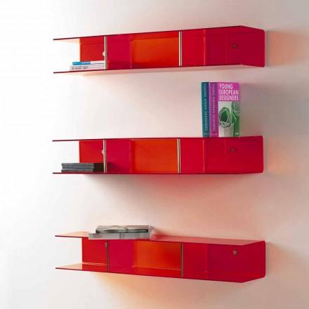 moderna pared de diseño estantería metacrilato Taira
