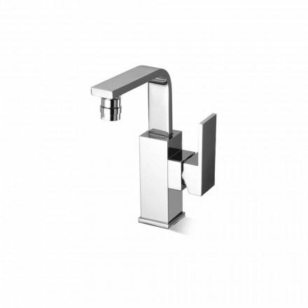 Mezclador de bidé para baño de diseño en latón sin desagüe Made in Italy - Panela