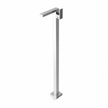 Mezclador de latón de diseño Made in Italy para lavabo de suelo - Panela