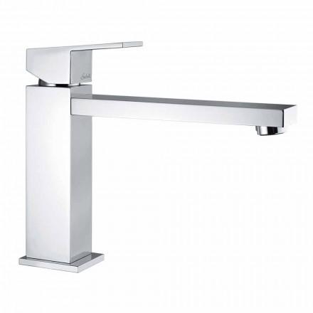 Mezclador de lavabo de baño con caño 170 mm distancia entre ejes Made in Italy - Medida