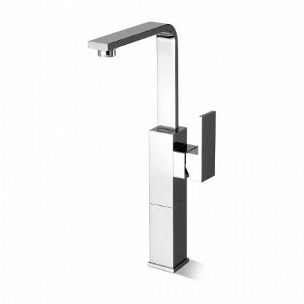 Mezclador de lavabo de baño de diseño con caño giratorio alto Made in Italy - Panela
