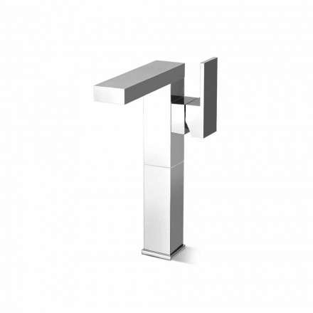 Mezclador de lavabo de baño con palanca lateral Made in Italy - Panela