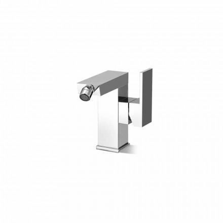 Mezclador de bidé con palanca lateral Made in Italy - Panela