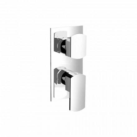 Mezclador de ducha con desviador de tres salidas Made in Italy - Sika