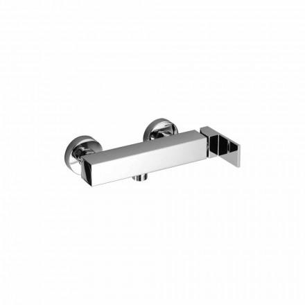 Mezclador de diseño para ducha exterior en latón Made in Italy - Panela
