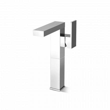 Mezclador de lavabo de diseño con palanca lateral Made in Italy - Panela