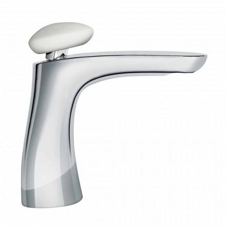 Mezclador de lavabo de latón de diseño moderno Made in Italy - Besugo