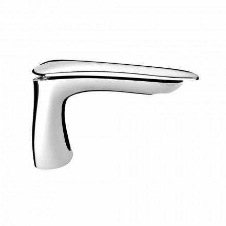 Mezclador de lavabo de latón de diseño moderno Made in Italy - Miriade