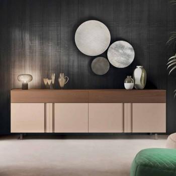 Aparador para sala de estar en madera ecológica con cajones - Serris