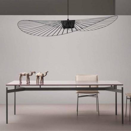Mesa de diseño en MDF lacado My Home Dub made in Italy