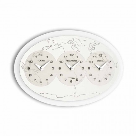 Reloj de pared de diseño modelo Zed