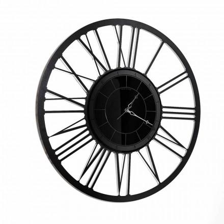 Reloj de pared de espejo de hierro de diseño moderno hecho en Italia - Gioele