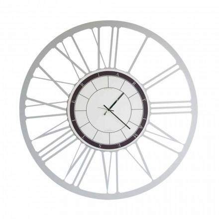 Reloj de pared moderno de hierro de gran tamaño hecho en Italia - Einar