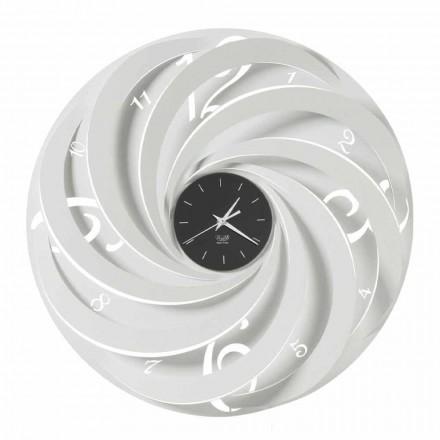 Reloj de Pared Redondo de Hierro Diseño Made in Italy - Salomone