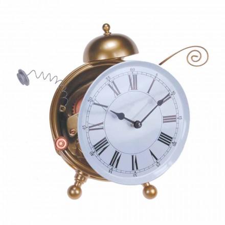 Reloj de mesa de diseño moderno en resina Made in Italy - Rex