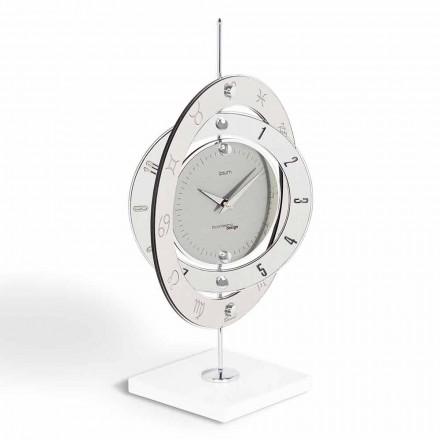 Reloj moderno mesa de diseño Plutón, fabricado en Italia