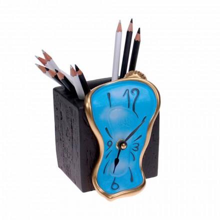 Reloj de lápiz de diseño de mesa Made in Italy - Figaro
