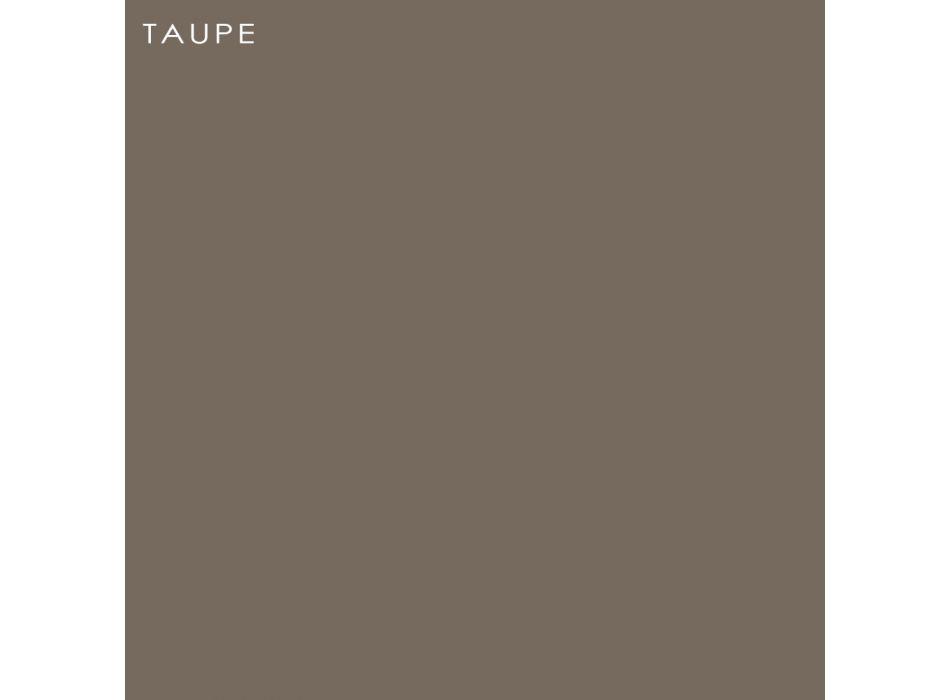 Banco de jardín en polietileno y madera de abedul Made in Italy - Talula
