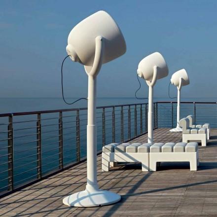 Lámpara de pie para exteriores Poleasy Design, 2 colores - Hollywood by Myyour