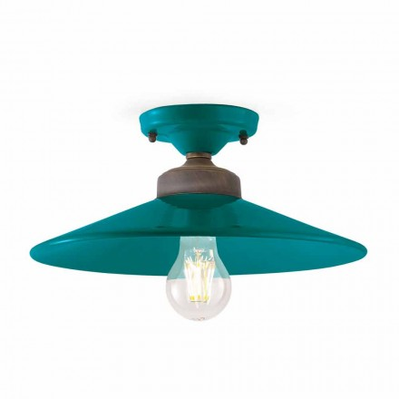 Lámpara de techo de cerámica Diseño de techo y latón Cecilia