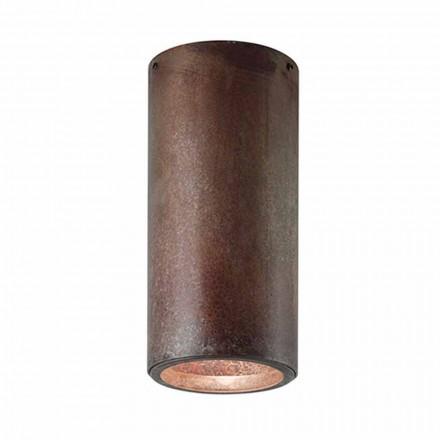 Plafón industrial de latón o hierro Girasoli Il Fanale