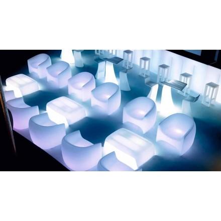 Sillón de exterior de diseño moderno, en resina de polietileno Blow by Vondom