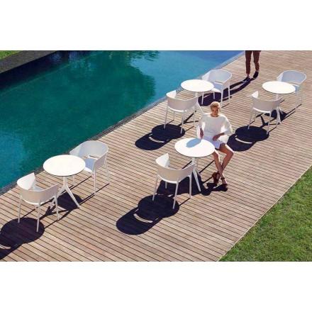 Sillón al aire libre diseñador Eugeni Quitllet, colección África de Vonodm, 4 piezas