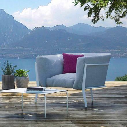 Sillón de diseño moderno o hecho en Italia para exteriores o interiores - Carminio1