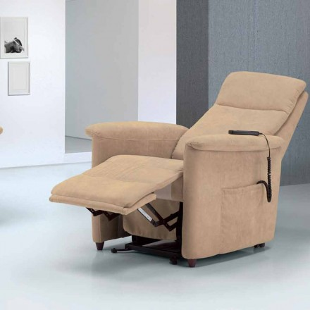 relajante diseño sillón alzapersona Via Firenze 2 motores