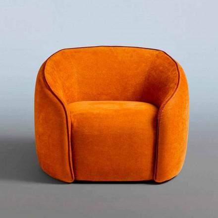 Sillón Relax Diseño Moderno Made in Italy en Tejido de Colores - Baloo