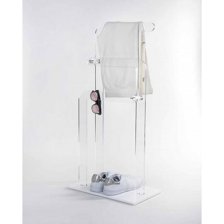 Toallero de baño en plexiglás PMMA, Zanica