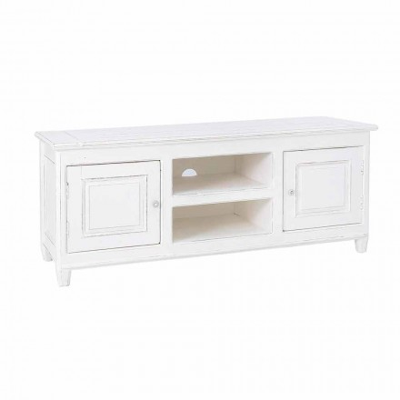 Mueble para TV de estilo clásico con estructura de madera de mango Homemotion - Renga