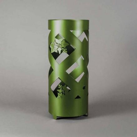 Paragüero en hierro coloreado de diseño moderno hecho en Italia - Enrica