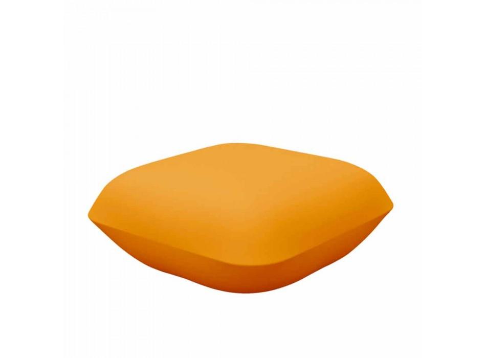 Almohada de Vondom design Puf exterior de polietileno. 67x67 cm