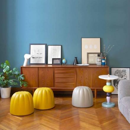 Puf color suave Slide Gelee en poliuretano hecho en Italia