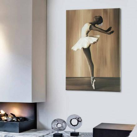 Cuadro diseño moderno Ballet realizado en Italia.