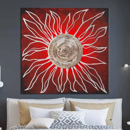 Cuadro abstracto de diseño Merano de Viadurini Decor.