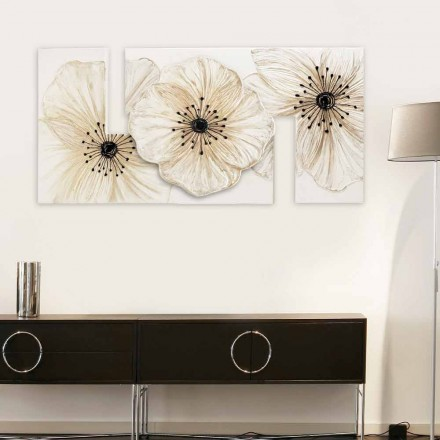 Cuadro flores moderno Petunia Piccola de Viadurini Decor