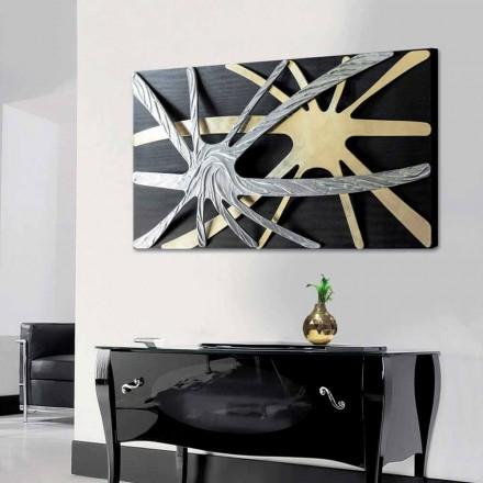Cuadro abstracto de diseño Spider realizado en Italia.