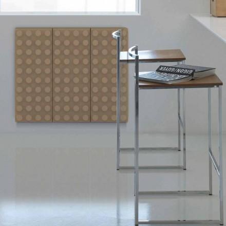 Radiador hidráulico de diseño moderno made in Italy Brick Scirocco H
