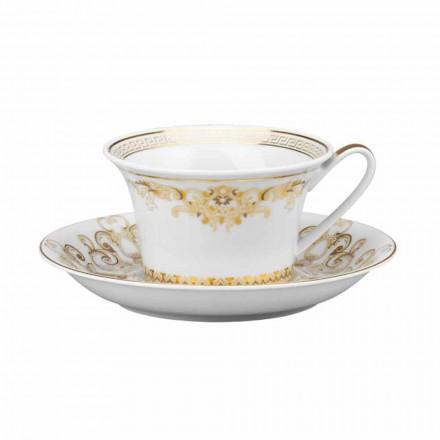 Rosenthal Versace Medusa Gala Copa de té de porcelana de diseño