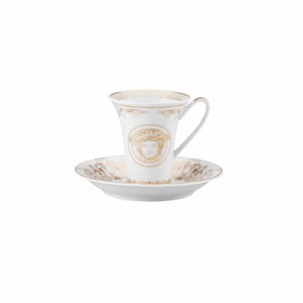 Rosenthal Versace Medusa Gala Diseño taza de porcelana de café