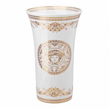 Rosenthal Versace Medusa Gala diseño jarrón de porcelana h 34cm