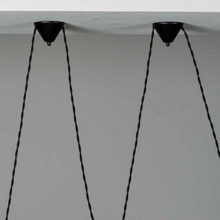 Composición del dosel cerámico de la lámpara Battersea 975ST - Toscot