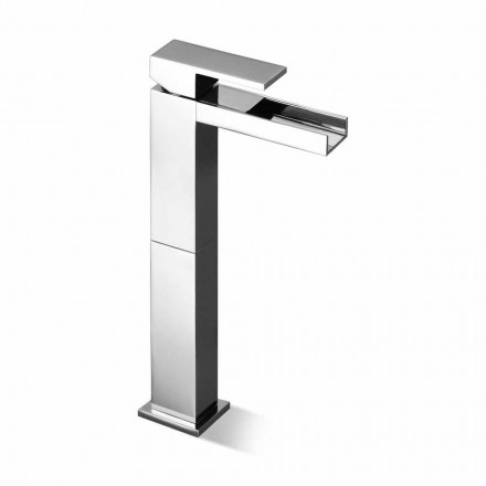 Grifo monomando para lavabo de diseño con extensión de 13 cm Made in Italy - Bibo